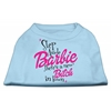 Mirage Pet Products New Bitch in Town Screen Print Dog Shirt Baby Blue XXXL (20)