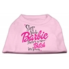 Mirage Pet Products New Bitch in Town Screen Print Dog Shirt Light Pink XS (8)