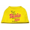Mirage Pet Products New Bitch in Town Screen Print Dog Shirt Yellow XXL (18)