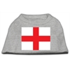 Mirage Pet Products St. George's Cross (English Flag) Screen Print Shirt Grey XS (8)