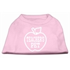 Mirage Pet Products Teachers Pet Screen Print Shirt Light Pink XXXL(20)