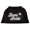 Mirage Pet Products Team Bride Screen Print Shirt Black XS (8)