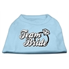 Mirage Pet Products Team Bride Screen Print Shirt Baby Blue Sm (10)