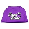Mirage Pet Products Team Bride Screen Print Shirt Purple Med (12)