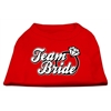 Mirage Pet Products Team Bride Screen Print Shirt Red XS (8)