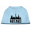 Mirage Pet Products Tokyo Skyline Screen Print Shirt Baby Blue XXL (18)