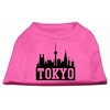 Mirage Pet Products Tokyo Skyline Screen Print Shirt Bright Pink XS (8)
