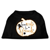 Mirage Pet Products Too Cute to Spook Screen Print Dog Shirt Black XS (8)