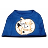 Mirage Pet Products Too Cute to Spook Screen Print Dog Shirt Blue XS (8)