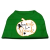 Mirage Pet Products Too Cute to Spook Screen Print Dog Shirt Green XS (8)
