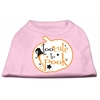 Mirage Pet Products Too Cute to Spook Screen Print Dog Shirt Light Pink XL (16)