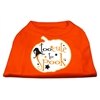 Mirage Pet Products Too Cute to Spook Screen Print Dog Shirt Orange XS (8)