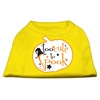 Mirage Pet Products Too Cute to Spook Screen Print Dog Shirt Yellow XS (8)