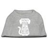 Mirage Pet Products Trapped Screen Print Shirt Grey Lg (14)