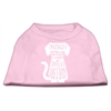 Mirage Pet Products Trapped Screen Print Shirt Light Pink Med (12)