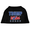 Mirage Pet Products Trump Checkbox Election Screenprint Shirts Black XS (8)