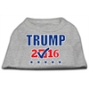 Mirage Pet Products Trump Checkbox Election Screenprint Shirts Grey XS (8)