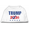 Mirage Pet Products Trump Checkbox Election Screenprint Shirts White Sm (10)