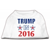Mirage Pet Products Trump in 2016 Election Screenprint Shirts White XXXL (20)