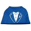 Mirage Pet Products Tuxedo Screen Print Shirt Blue XL (16)