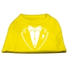 Mirage Pet Products Tuxedo Screen Print Shirt Yellow XS (8)