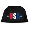 Mirage Pet Products USA Star Screen Print Shirt Black  XS (8)