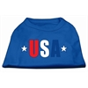 Mirage Pet Products USA Star Screen Print Shirt Blue Lg (14)
