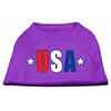Mirage Pet Products USA Star Screen Print Shirt Purple Med (12)