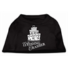 Mirage Pet Products Wedding Crasher Screen Print Shirt Black  XXL (18)