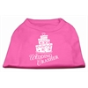 Mirage Pet Products Wedding Crasher Screen Print Shirt Bright Pink XS (8)