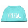 Mirage Pet Products Wicked Screen Print Shirt Aqua XS (8)