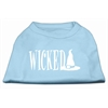 Mirage Pet Products Wicked Screen Print Shirt Baby Blue XXXL(20)
