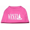 Mirage Pet Products Wicked Screen Print Shirt Bright Pink L (14)