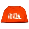 Mirage Pet Products Wicked Screen Print Shirt Orange XS (8)
