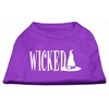 Mirage Pet Products Wicked Screen Print Shirt Purple XXL (18)