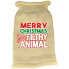 Mirage Pet Products Ya Filthy Animal Screen Print Knit Pet Sweater Cream XS (8)