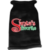 Mirage Pet Products Santas Favorite Screen Print Knit Pet Sweater Black Med (12)