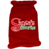 Mirage Pet Products Santas Favorite Screen Print Knit Pet Sweater Red Sm (10)