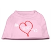 Mirage Pet Products XOXO Screen Print Shirt Light Pink XXL (18)
