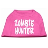 Mirage Pet Products Zombie Hunter Screen Print Shirt Bright Pink XL (16)