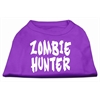Mirage Pet Products Zombie Hunter Screen Print Shirt Purple XS (8)