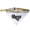 Mirage Pet Products Los Angeles Rams Bandana Small