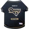 Mirage Pet Products Los Angeles Rams Pet Shirt MD