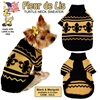 Mirage Pet Products Fleur de Lis Pet Sweater Size XS