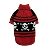 Mirage Pet Products Happy Skull Pet Sweater Size SM