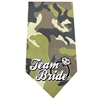 Mirage Pet Products Team Bride Screen Print Bandana Green Camo