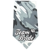 Mirage Pet Products Team Bride Screen Print Bandana Grey Camo