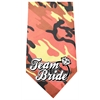 Mirage Pet Products Team Bride Screen Print Bandana Orange Camo