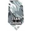 Mirage Pet Products Team Groom Screen Print Bandana Grey Camo