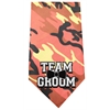 Mirage Pet Products Team Groom Screen Print Bandana Orange Camo